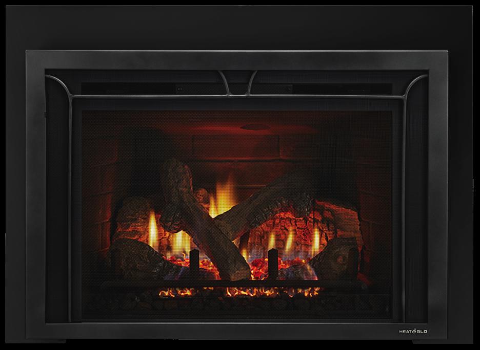 Escape Gas FireBrick Inserts | Heat & Glo