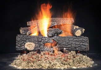 Real Wood Gas Logs