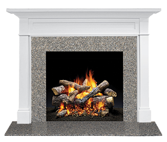Roxborough Flush Wood Mantel