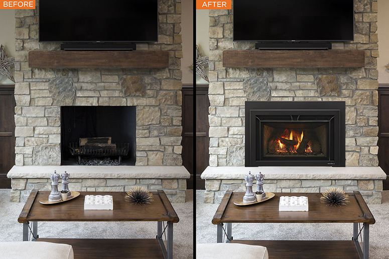 Converting a Wood Burning Fireplace into Gas? | Heat & Glo