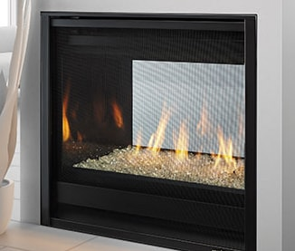 Marvelous St 36 See Through Series Gas Fireplace Heat Glo Interior Design Ideas Clesiryabchikinfo