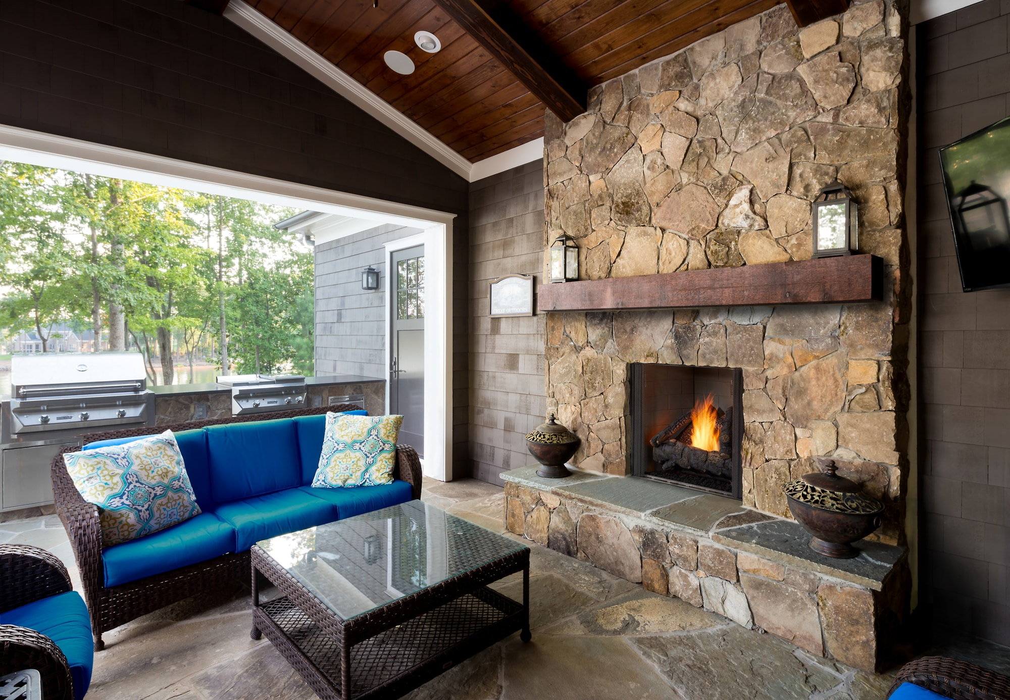 How To Maintain Your Outdoor Gas Fireplace Outdoor