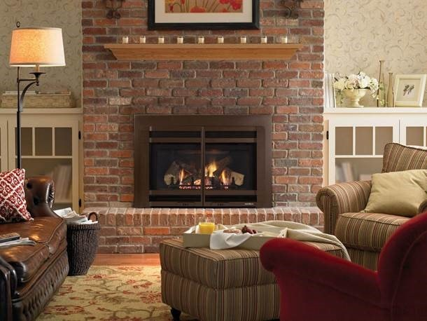 Diy Ideas To Give Your Brick Fireplace A Modern Update Heat Glo