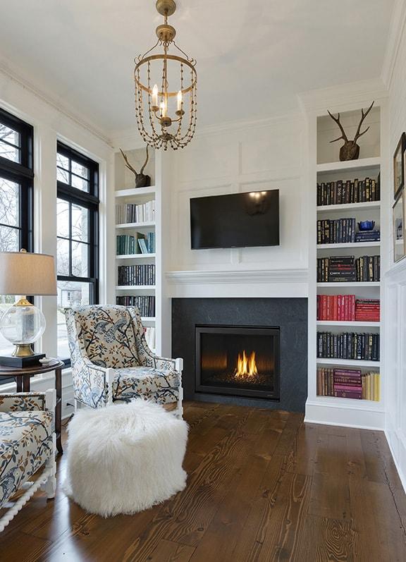 Heat Glo 6000c Modern Gas Fireplace