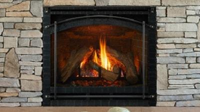 Log Burner Fireplace Freestanding