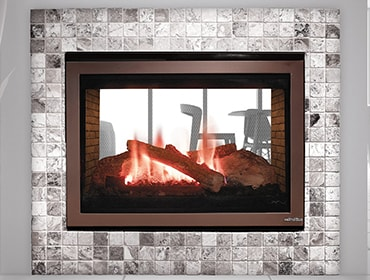 Magnificent St 36 See Through Series Gas Fireplace Heat Glo Interior Design Ideas Clesiryabchikinfo