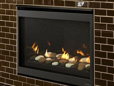 Slimline Fusion Series Gas Fireplace Heat Glo