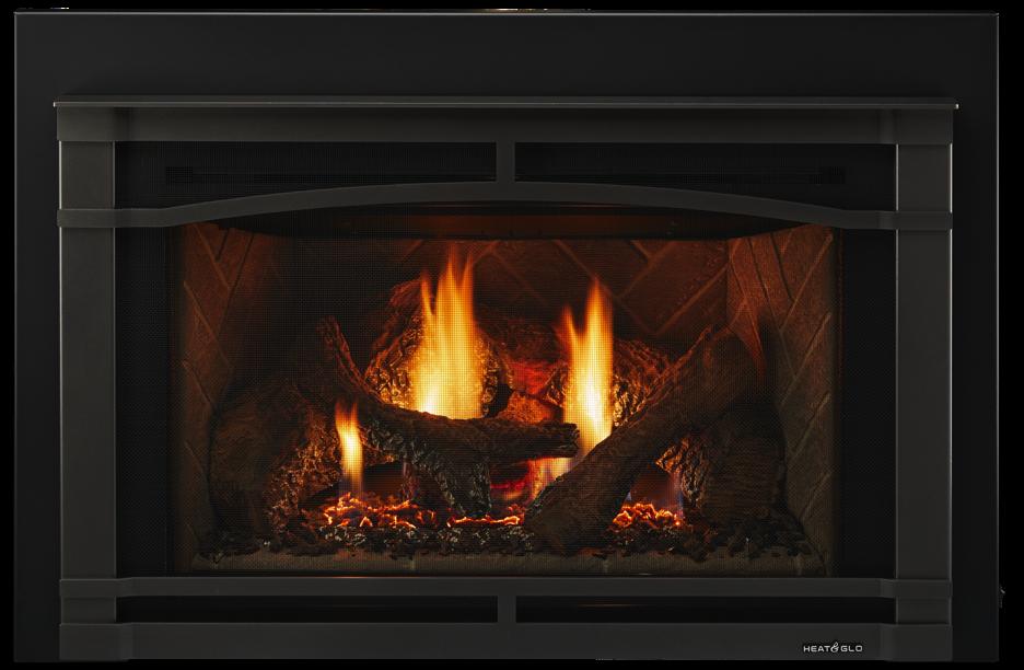 Supreme Gas Fireplace Insert Heat Amp Glo
