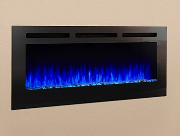 SimpliFire Allusion Electric Fireplace