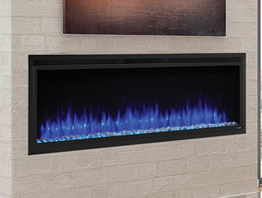 SimpliFire Allusion Platinum Electric Fireplace