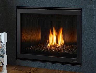 6000 Modern Gas Fireplace