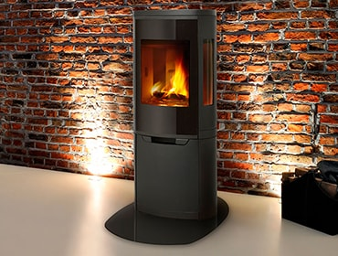 Curve Wood Stove