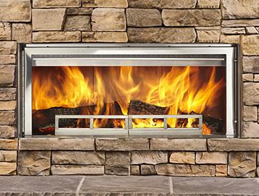 Longmire Wood Fireplace