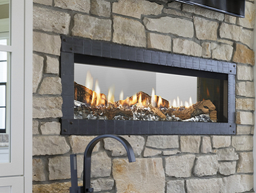 MEZZO See-Through Gas Fireplace