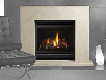 3X AU Balanced Flue Gas Fireplace