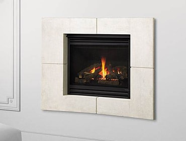 5X AU Balanced Flue Gas Fireplace