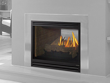 See-Through AU Gas Fireplace
