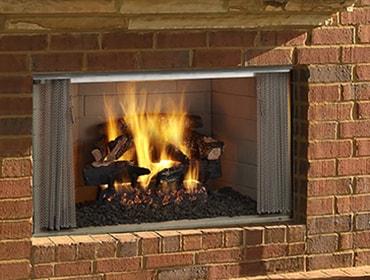 Villawood Wood Fireplace